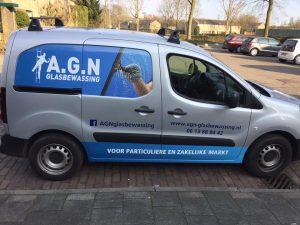 Auto AGN glasbewassing